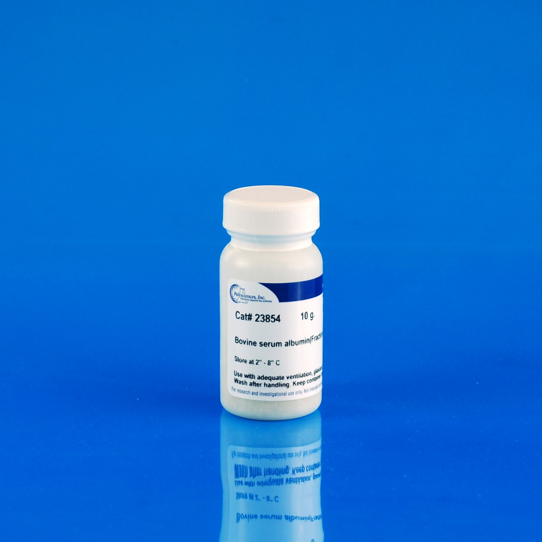 Bovine serum albumin (fraction V, protease-free), lyophilized