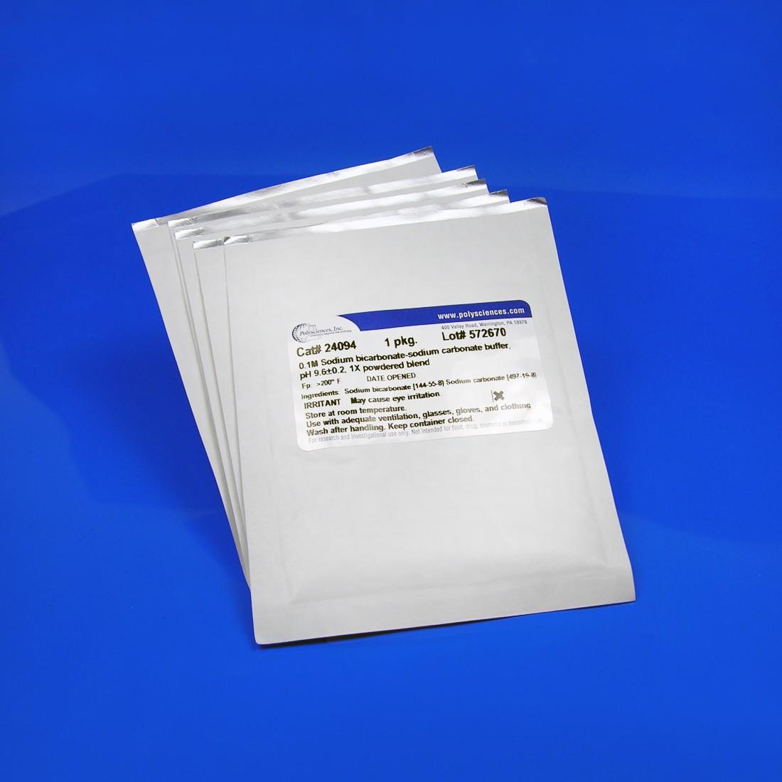 0.1M Sodium Bicarbonate-Sodium Carbonate Buffer, pH 9.6 ±0.2, 1X  Powdered Blend