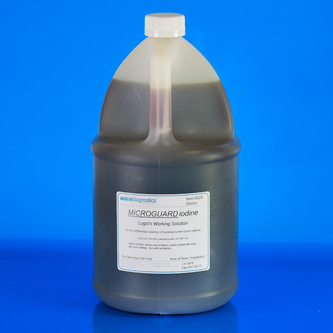 MicroGuard Iodine, Lugol's