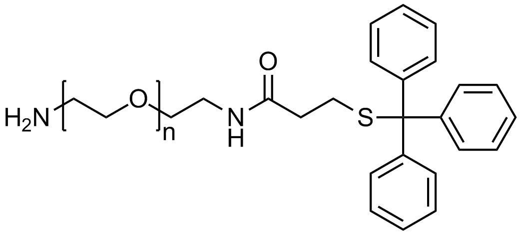 Amine PEG tritylthiol, Mp 10000
