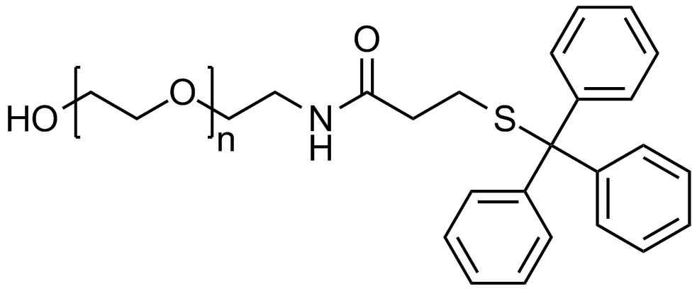 Hydroxyl PEG tritylthiol, Mp 3000