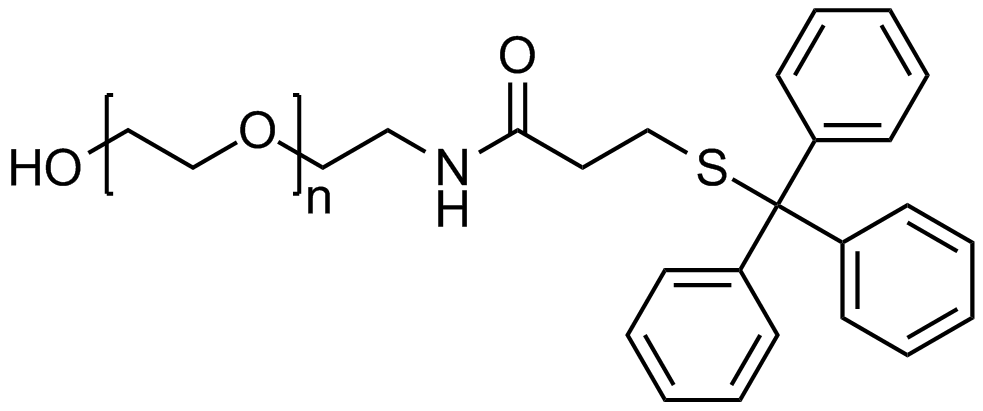 Hydroxyl PEG tritylthiol, Mp 10000