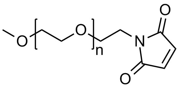 Methoxy PEG maleimide, Mp 750