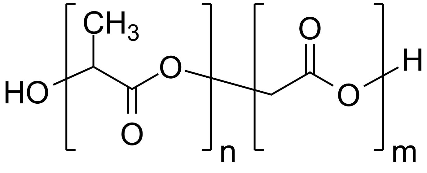 Poly(D,L-lactide-co-glycolide), 75:25, IV 0.2 dl/g, acid-terminated