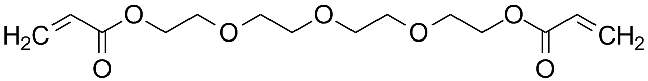 Tetraethylene glycol diacrylate (TetEGDA)