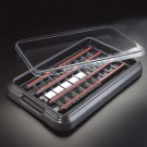 StainTray™ Slide Staining System - Base with Clear Lid (20 Slide Capacity)